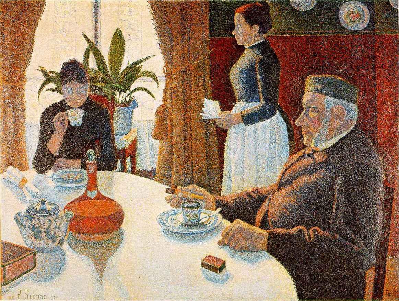 Paul Signac - The Dining Room
