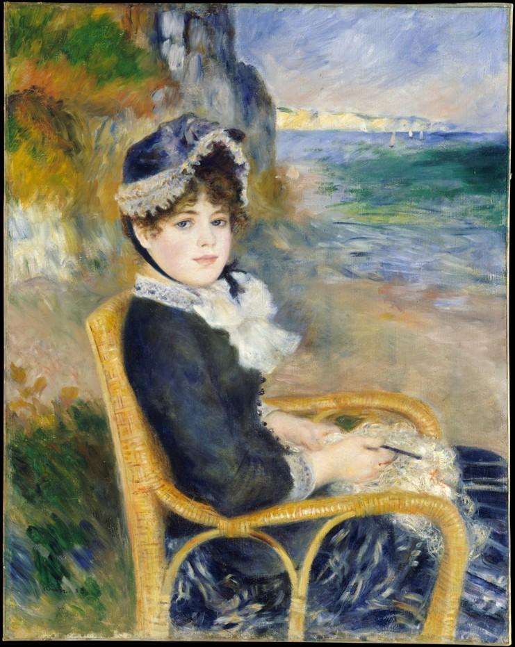Auguste Renoir - By the Seashore