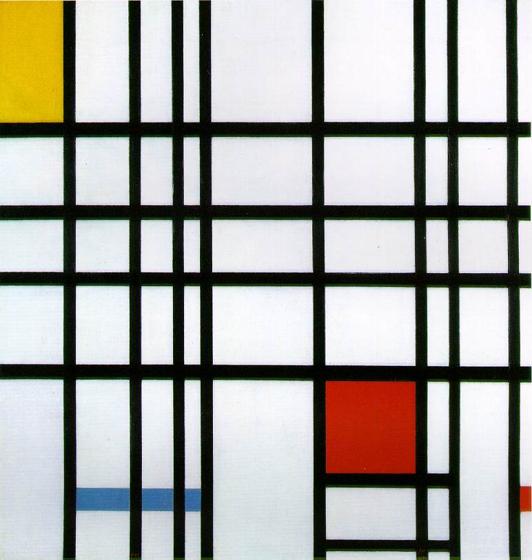 Piet Mondrian - Composition with Red Yellow and Blue