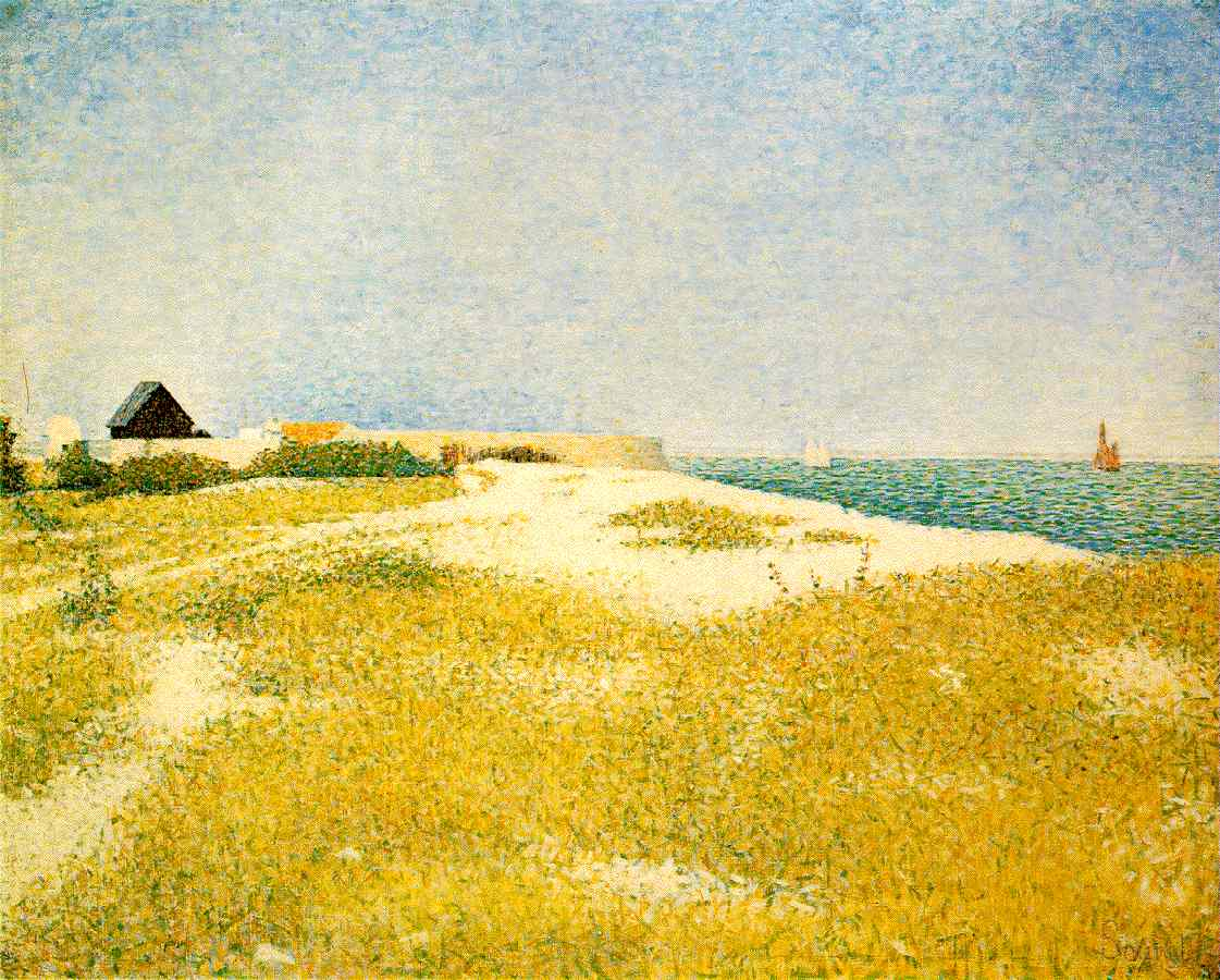 Georges Seurat - View of Fort Samson