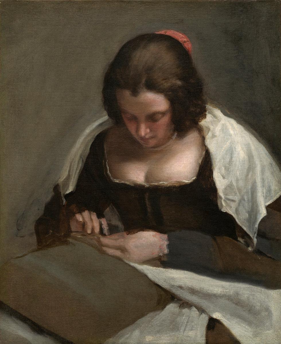 Diego Velázquez - The Needlewoman