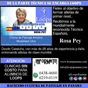 LOOPS Subiendo el nivel Técnico en Panamá: CLÍNICA DE PATINAJE ARTÍSTICO CON ROSA PEY