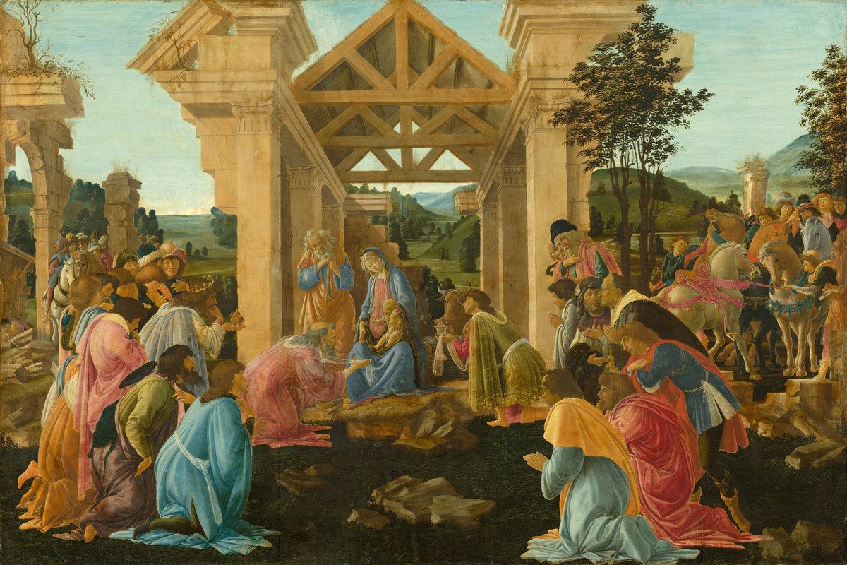 Sandro Botticelli - The Adoration of the Magi
