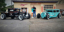 '31 Ford Model A and '29 Ford Tudor