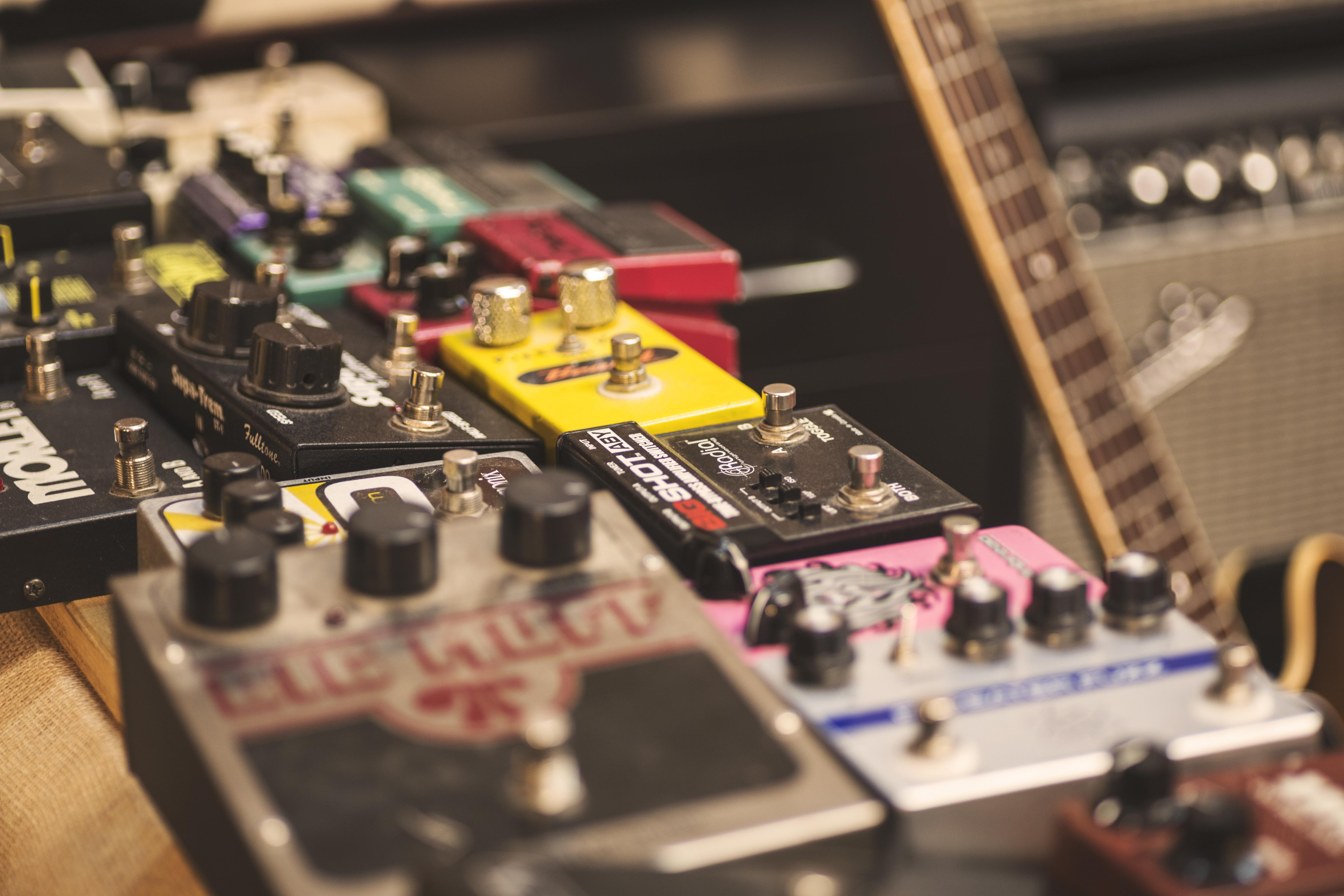pedales de guitarra