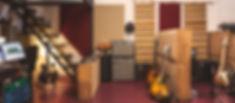 Detalle de la sala de grabación