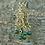 Thumbnail: Boucles d'oreilles Art Nouveau 1