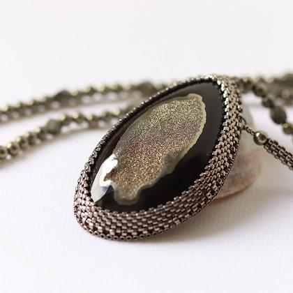 Collier avec ammonite