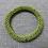 Thumbnail: Bracelet en rocailles, vert
