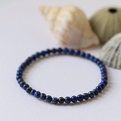 Lapis Lazuli bracelet, 4mm