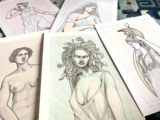 Figures féminines de la mythologie grecque
