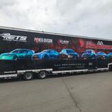 English Racing Trailer wrap