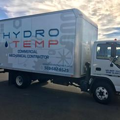 Hydro Temp Isuzu box van wrap