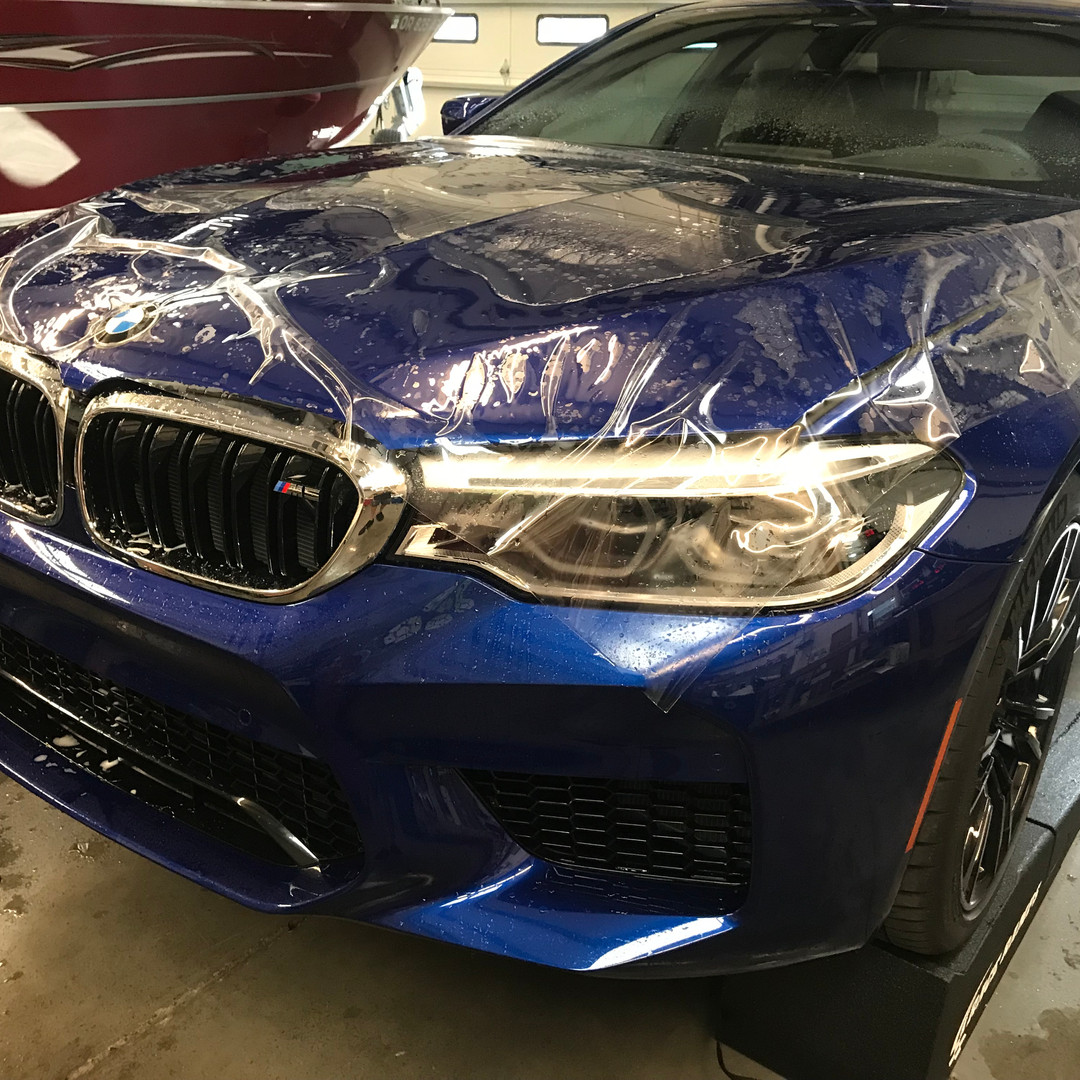 BMW M5 Clear Bra
