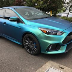 Ford Focus color shift wrap