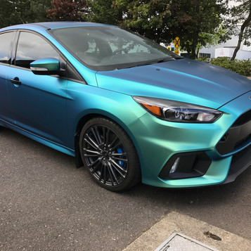 Ford Focus color shift wrap