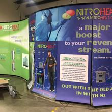 Nitro Heat SEMA exhibitor board