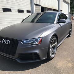 Audi RS6 Matte Charcoal wrap