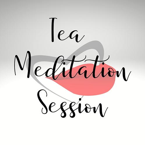 Tea Meditation Session