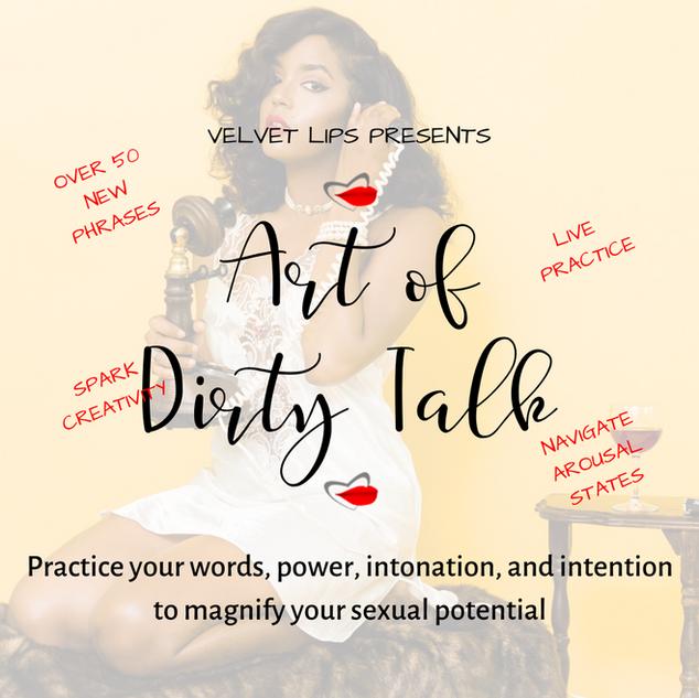 Art of Dirty Talk