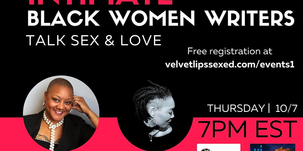 Get Intimate: Black Women Writers Talk Sex & Love