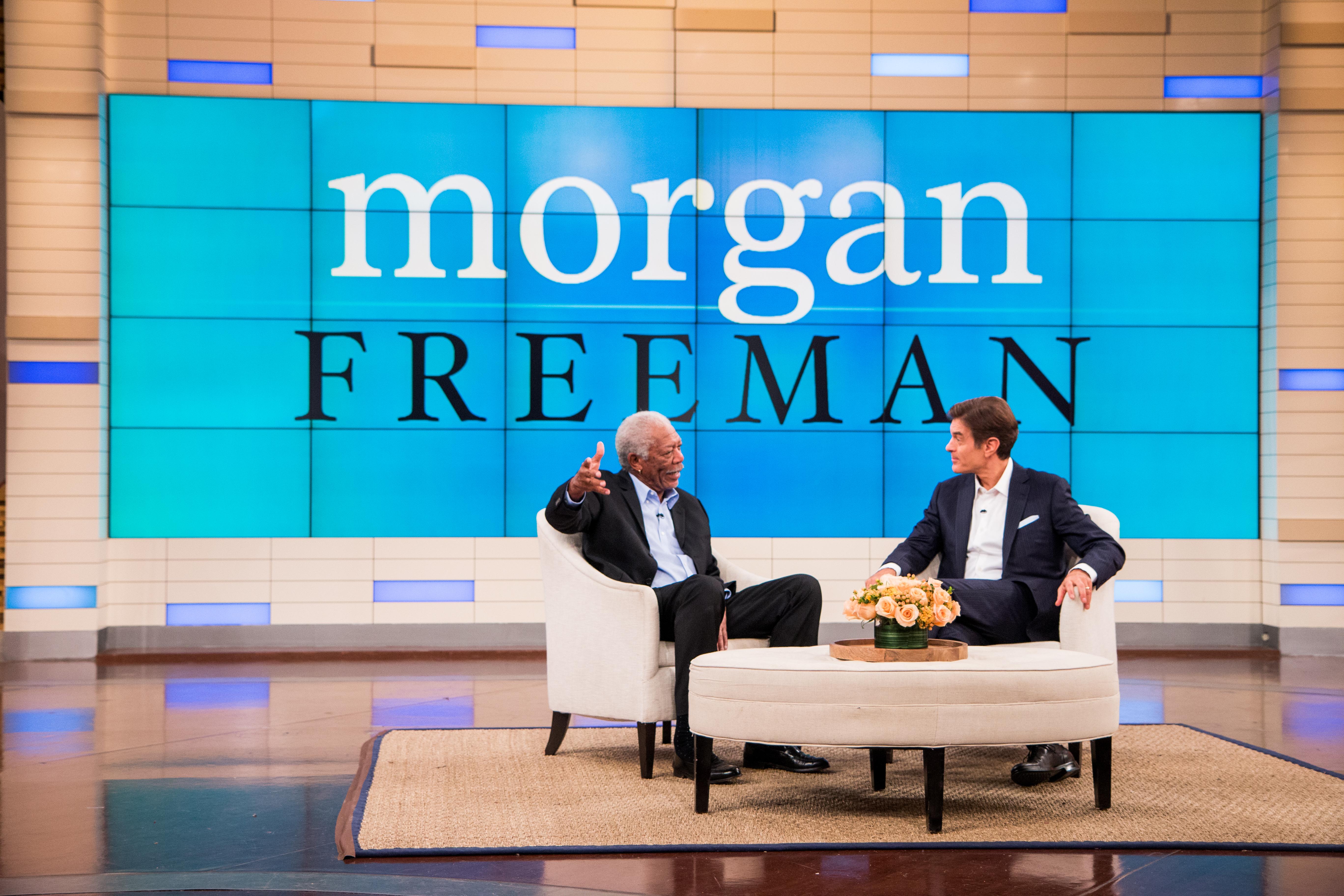 Morgan Freeman & Dr. Oz