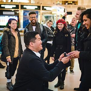 Christian proposes to Sarv