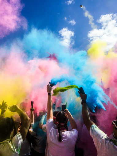 Color Run at Citifield - New York City
