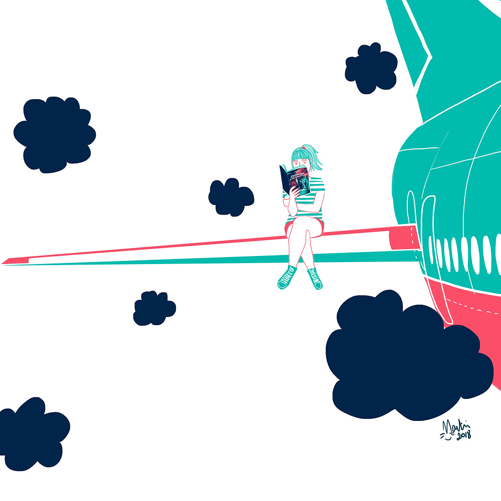 City Guide Plane Dreamer Map Illustrator London