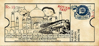 Train ticket design