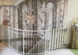 Wallpaper Tree pattern illustration