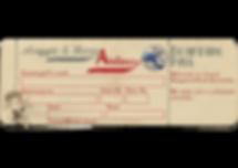 Airplane ticket design
