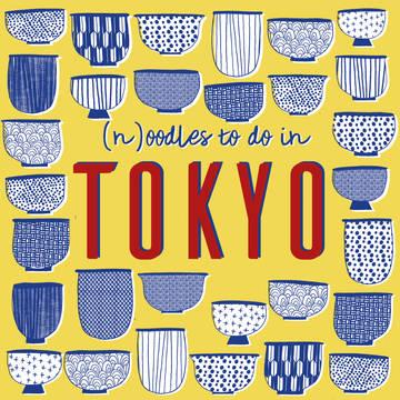 Tokyo pattern illustration