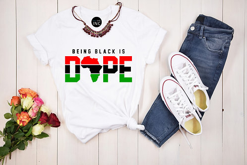 Being Black is DOPE (Africa Color)