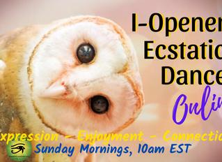 I-Opener Dance ONLINE :: Finding Trust (SUN, 4/12 @10am EST)