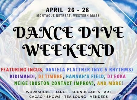 Dance Dive Weekend // Western Mass // Apr 26-28