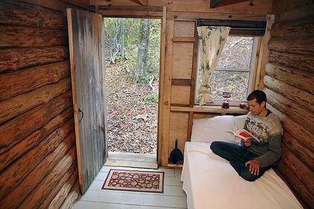Abode cabin-B-inside-w-Nicko.jpg