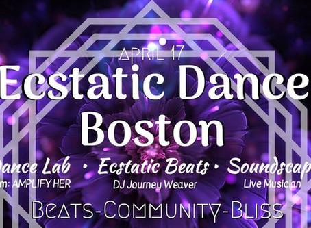 Ecstatic Dance Boston // Amplify Her // DJ Journey Weaver - Wed, 4/17