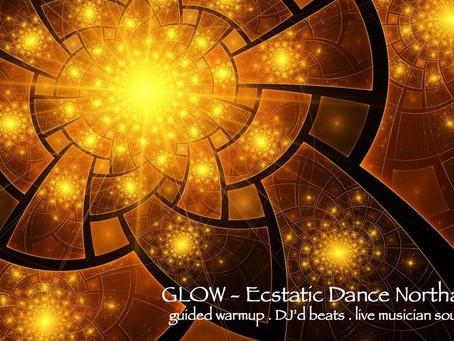 Glow // Ecstatic Dance Northampton // Dive-In (Sun, 4/14)