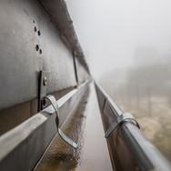 Capitol Roofing Metal Rain Gutter