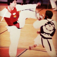 Olympic Taekwondo Martial Arts Fitness Sparring