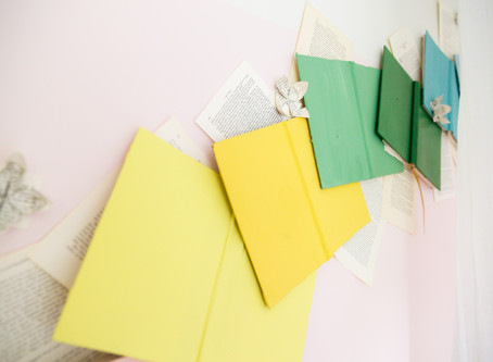 FEATURED PROJECT: Rainbow Books Feature Wall