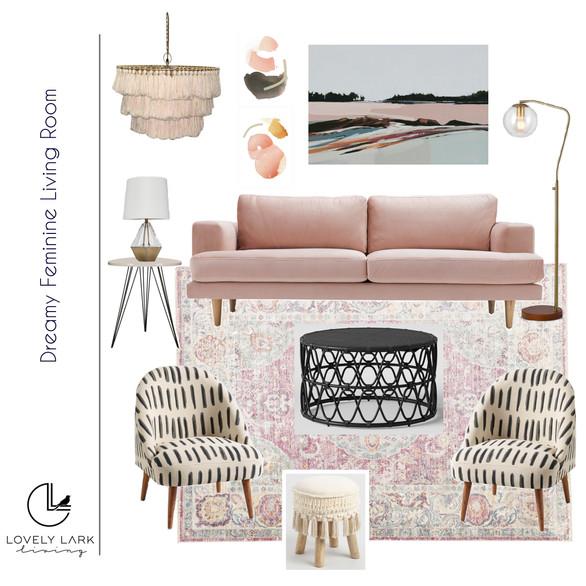 Dreamy Feminine Living Room