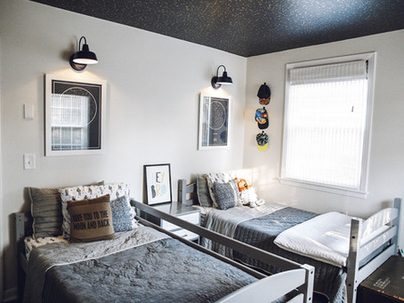 FEATURED PROJECT: Boy's Night Sky Bedroom