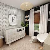 Frazier's Nursery Room Rendering MockUp