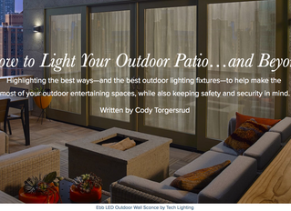 How to Light Your Outdoor Patio...and Beyond