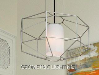 Geometric Lighting On Trend