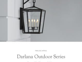 Darlana Outdoor Series by Chapman & Myers for Visual Comfort