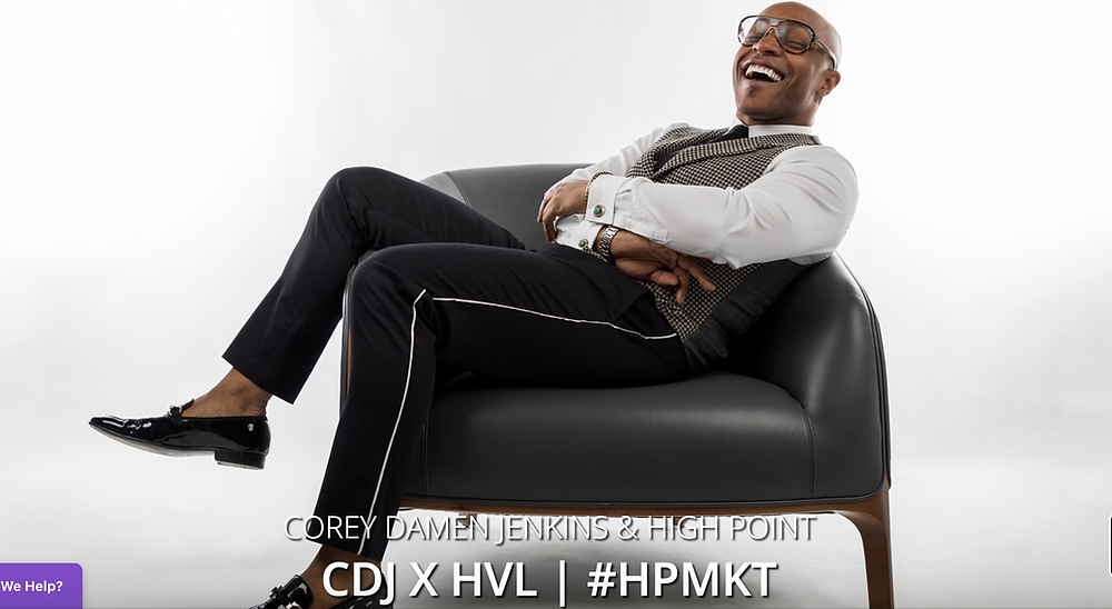 For the first time in our 30+ years, we're partnering with a designer to offer you a new collection. It's Corey Damen Jenkins, the interior design superhero kicking it with positive vibes only from Detroit. We're thrilled and proud to announce CDJ x HVL.