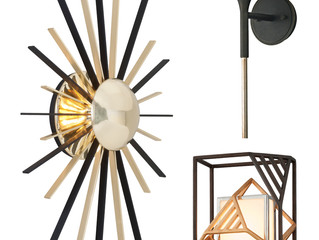 What do Mid-Century, Industrial and Postmodern Sconces have in Common?